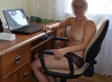 Femme timide en culotte - Relation intime