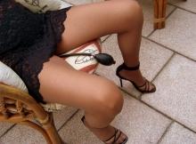 Masturbation avec une pompe - Femme libertine