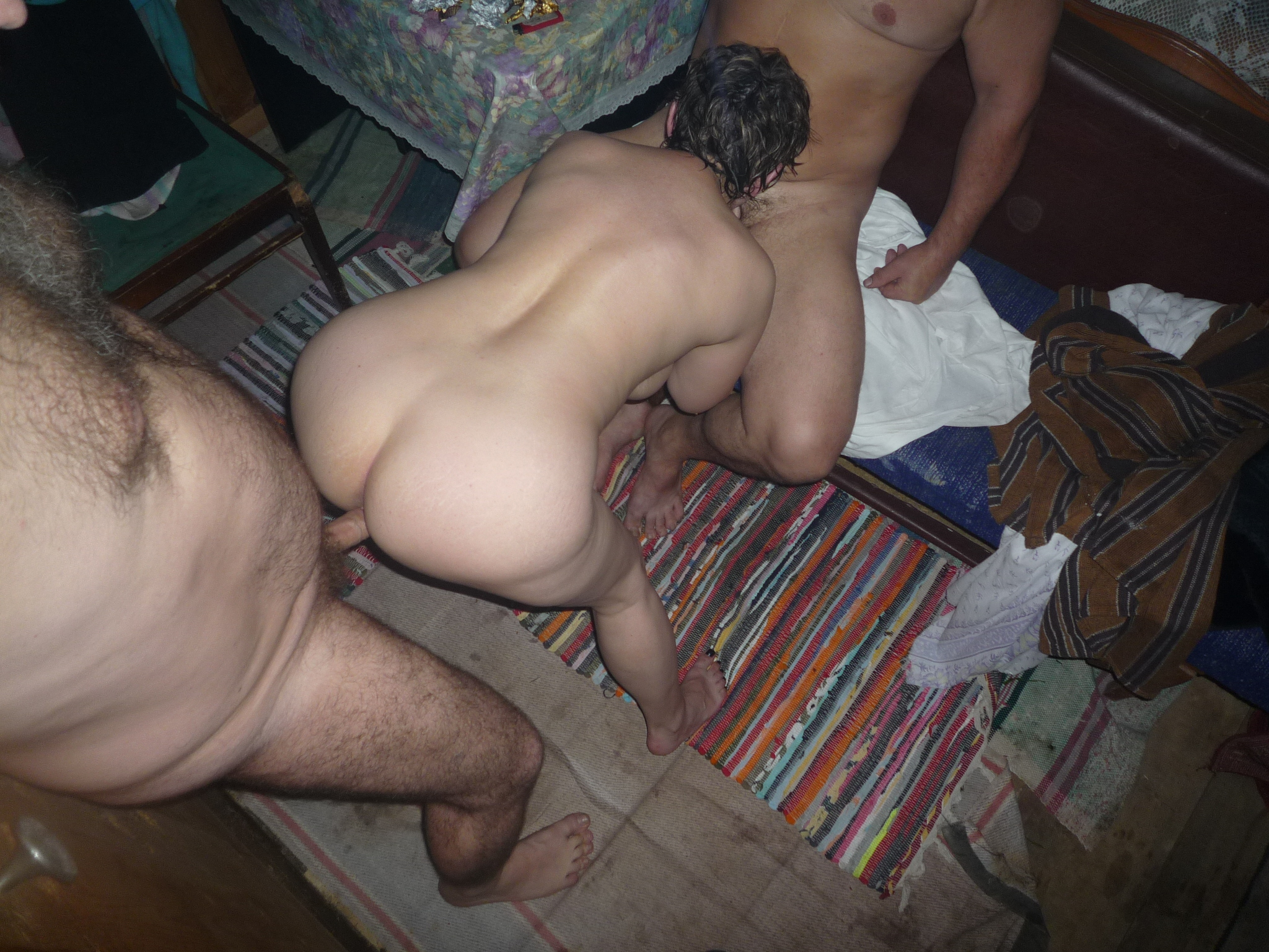 18y wife in bed with 4 much older men - 1 6