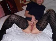 Blonde se masturbe - Relation sexe