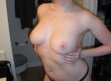 Belle paire de seins - Plan cul discret