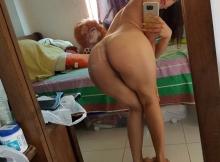 Exhibe son cul - Selfie sexy