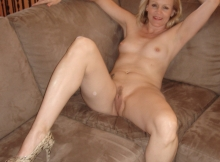 Exhibe sa chatte - Photo cougar