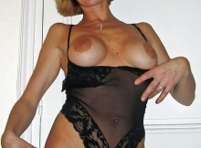Cougar nuisette sexy  - Photo cougar