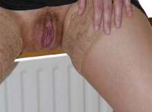 Grosse chatte - Femme mature