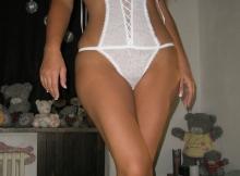 Beurette sexy en lingerie