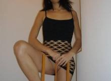 Porte pas culotte - Chatte nue
