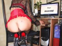 Exhibe son cul - Webcam sexe amateur