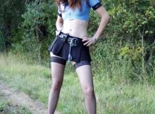 Mini-jupe - Policière sexy