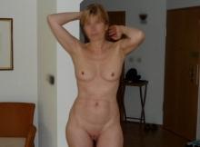 Femme mature toute nue - Plan cul