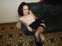 Femme sexy en bas nylon - Plan cul Brest