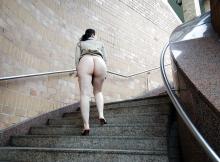 Belles et grosses fesses - Exhib à Paris