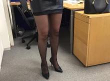 Mini jupe et paire de collants - Femme Cougar Metz