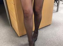 Paire de collants noirs - Femme Cougar Metz