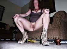 Femme sexy, sans culotte - Rencontre Mature