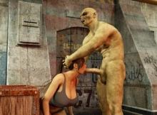 Fellation sur un alien - Humour sexe