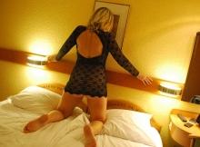 Nuisette sexy transparente - Femme Cougar