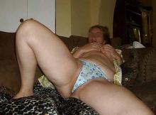 En culotte - Femme de Nice
