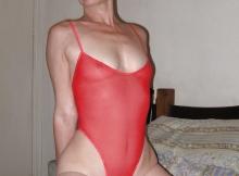 Body sexy transparent
