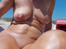 Mes seins à la plage