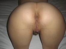 Sexe intime : le cul serré d'une blonde