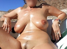 Je bronze toute nue