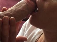 Bonne pipe, ma femme en pleure de joie