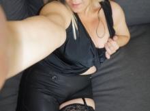Lingerie sexy noire
