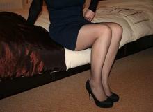 Jambes en collants - Femme sexy Paris