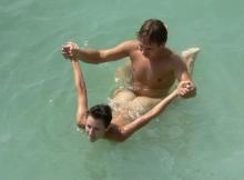 Position sexe dans l'eau