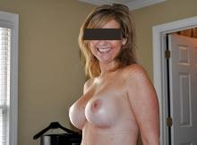 Mes seins bien durs - Femme cougar de Lyon