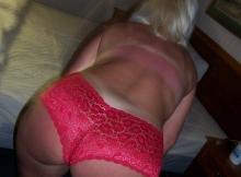 Mon cul en shorty - Femme libertine Paris