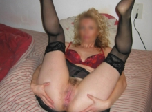 Exhib chatte - Femme Cougar