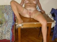 Chatte ouverte - Femme retraitée