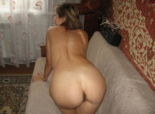 Beau cul - Femme Russe