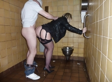 Candaulisme : toilettes de l'autoroute A6