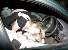 Candaulisme : pipe dans la voiture