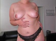 Culotte noire en dentelle - Femme grosse Paris