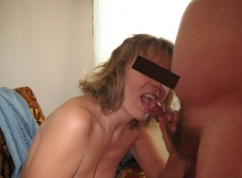 Suce le gland - Couple amateur