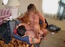 Chevauche le sexe de mon mari- Couple amateur