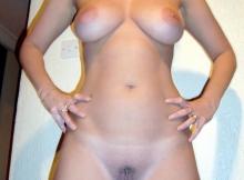 Toute nue - Femme discrète