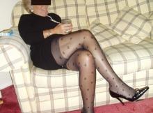 Collants fantaisies - Femme libre et retraitée