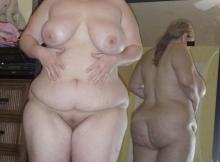 Nu intégral - Femme grosse