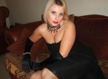 Robe de soirée classique - Femme sexy
