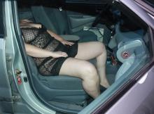 Sexy dans la voiture - Candauliste Nord