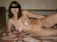 Allongée toute nue - Femme russe Paris