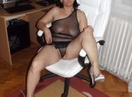 Ensemble lingerie coquine - Femme seule