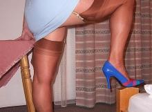 Jambes musclées en bas nylon - Cougar Marseille