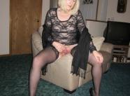 Assise en lingerie - Soirée libertine