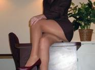 Tailleur et chaussures à talons - Tenue sexy